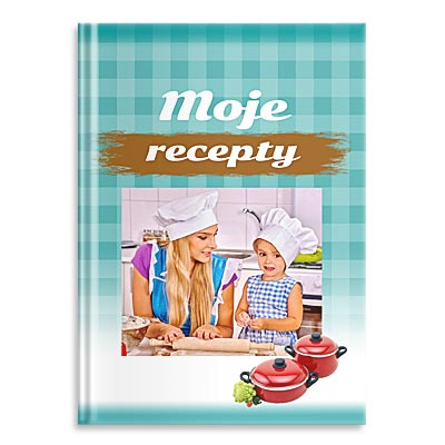 Fotokniha, vlastní kuchařka