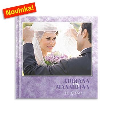 Svatební fotokniha romantická