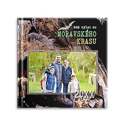 Fotokniha, Moravský kras, jeskyně