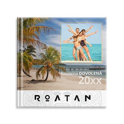 Fotokniha dovolená Roatán