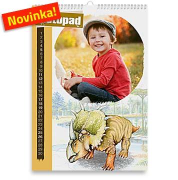 Dino fotokalendář s dinosaury
