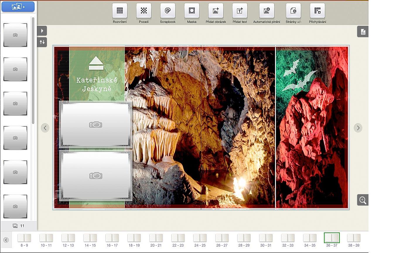 Moravský Kras, jeskyně, fotokniha, výlet